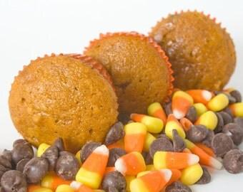 Pumpkin Muffins - 12 full-sized muffins