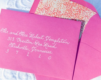 Wedding Calligraphy Envelope Addressing - Custom Handwritten - Place Cards, Escort Cards, Invitations, Signage and More