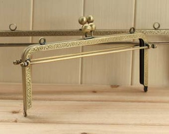 Large Purse Frame 30cm(12inch) Bronze Bag Frames Metal Sewing Frame above6inch 200-101