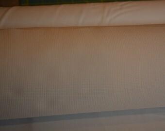 Cotton Waffle Weave Pique - white