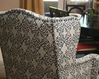 Alexandria Wing Back Chair