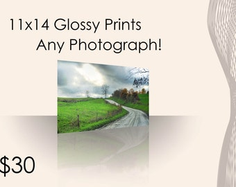 Choose any 11x14 Glossy Print