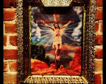 3D crucifixion picture