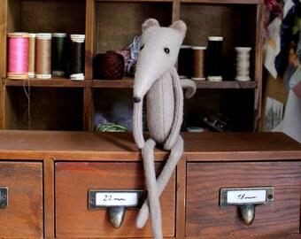 Shelf Mouse - Pdf sewing pattern