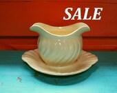 Franciscan Ware White Cream Ivory Gravy Boat Bowl