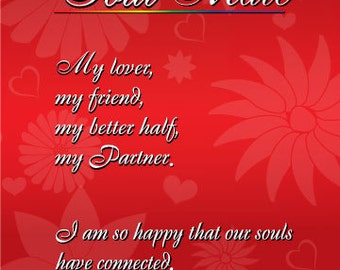 Soulmate Greeting Card