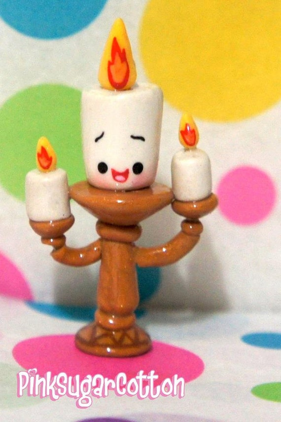 Items Similar To Lumiere Candlestick Beauty And The Beast