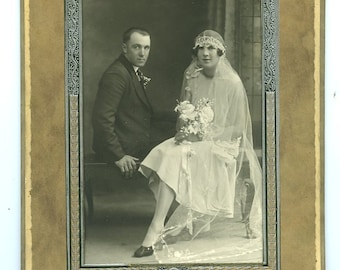Beautiful Antique Wedding Photograph