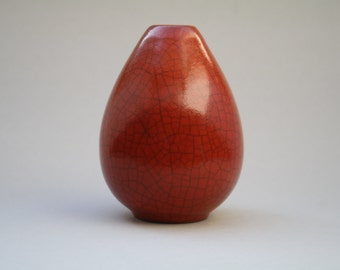 Maria Laach crackled glazed vase, 1930s
