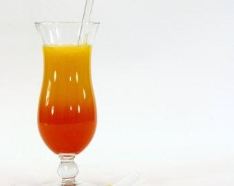 XL-Glass drinking straw, single, straight, 10 mm x 250 mm