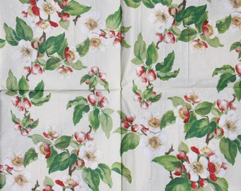 13x13 (1piece) paper napkins for Decoupage and Paper Crafts
