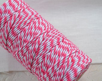 Hot Pink Cotton Bakers Twine