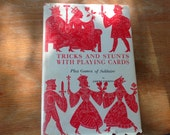 Tricks and Stunts with Playing Cards Book Vintage Card Trick Book By Joseph Leeming