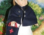 American Girl Doll 1950s Nurses Costume.