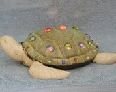 Turtle Nightlight with Jeweled Accents