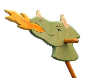 Aag, the Dragon Hobby Horse