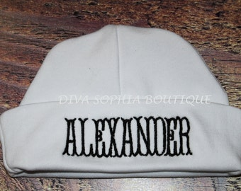 Personalized Baby Hat - Beanie Hat