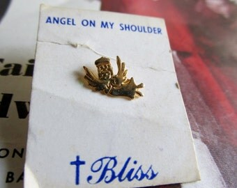 Miniature BLISS Angel on my Shoulder