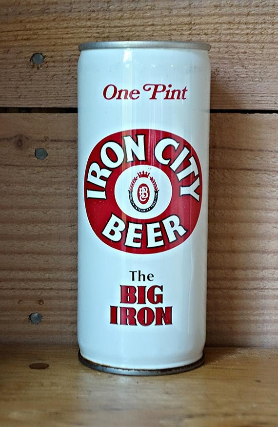 Vintage Iron City Beer Pittsburgh Men Of Iron By