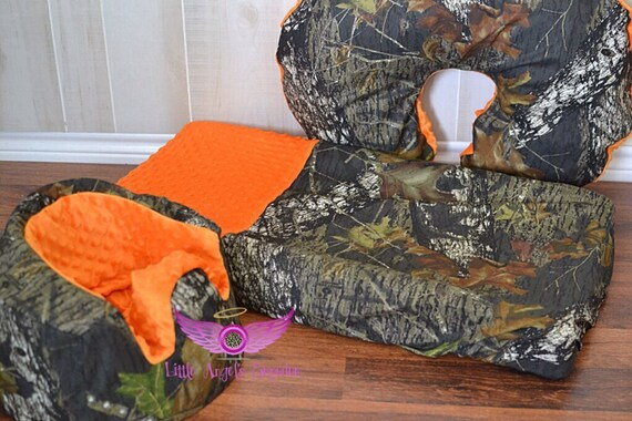 Orange Mossy Oak Camouflage