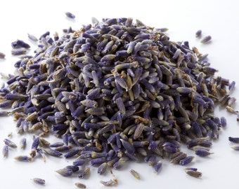 1/2lb HIGHEST FRAGRANCE Dried Lavender Organic French, 1-8oz, Moth Repellent Biodegradable Ecofriend Wedding Flower Toss Bulk Loose Refill