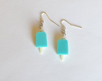 Kingdom Hearts Sea Salt Ice Cream Earrings