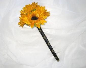 Sunflower Bouquet Wand