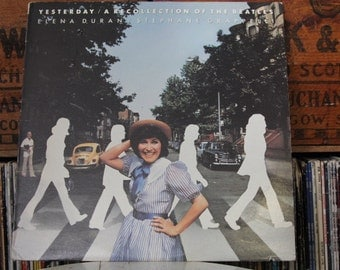 "Elena Duran / Stephane Grappelli - ""Yesterday / A Reconstruction of the Beatles, vinyl record"