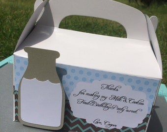 Milk & Cookies Favor Boxes (10)