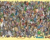 Limited Edition A1 size 'Where's K-9' poster, autographed & numbered by the artist.