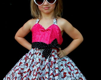 Sparkle Hello Kitty Dress