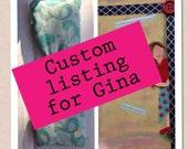 Custom listing for Gina