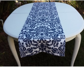 18x82 Cotton Print Table Runner