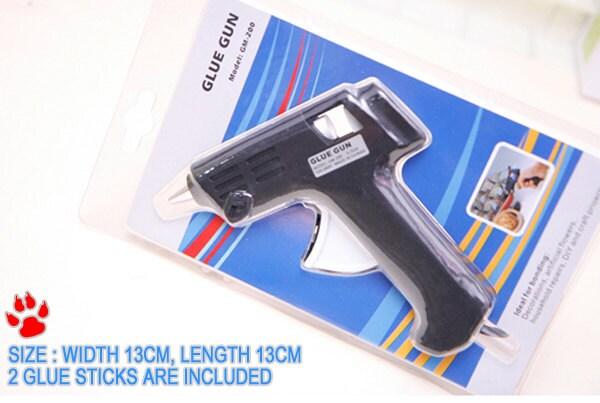 1 Piece Of Hot Melt Glue Gun With 2 Pcs Sticks