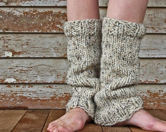 Women's Leg Warmers Knitting Pattern - STRENGTH - a set of INSTRUCTIONS to knit the leg warmers - Children's Sizes