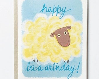Birthday Card With Cute Bear Funny Birthday By Greenbeanthings