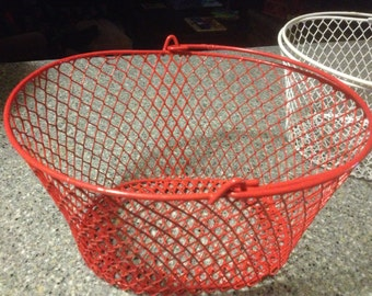 Wire Egg Basket, oval - various colors