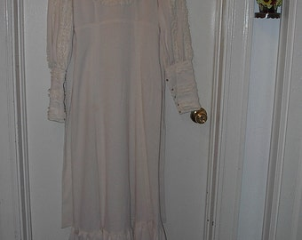 HALF PRICE SALE Vintage Wedding Dress From The 1970s Was 100.00 Now 50.00