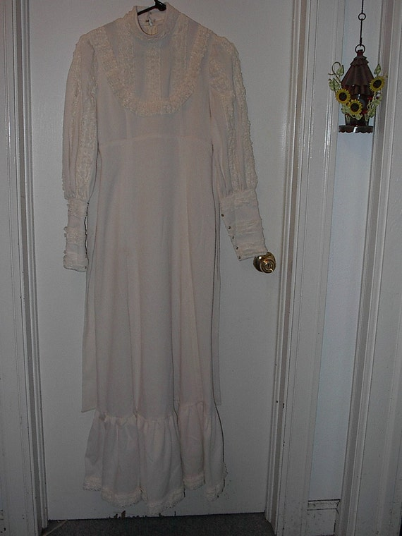 Half price sale vintage wedding dress from the 1970s was for 1970s wedding dresses for sale