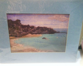 Secluded Cove notecards and prints from my original oil painting