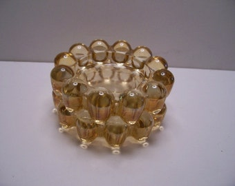 Citrine Boopie glass Ashtrays