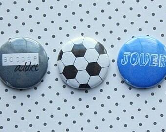 "3 badges 1 ""Soccer"