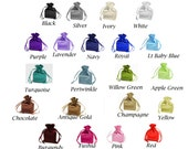 "SATIN SELECT COLOR custom list - 4""x 6"" drawstring bags gift favor party, bridal red blue green purple white black gold navy periwinkle pink"