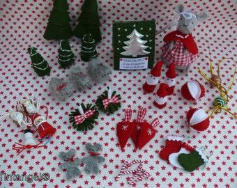 To the Christmas Market with Mila - DIY kit