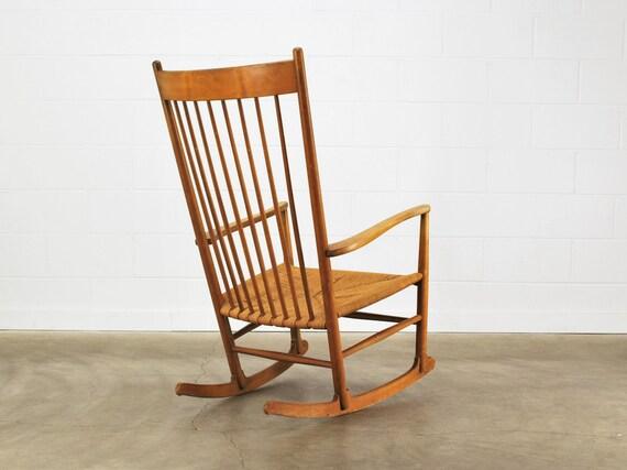 RESERVED for Carol: Hans Wegner J16 Rocking Chair