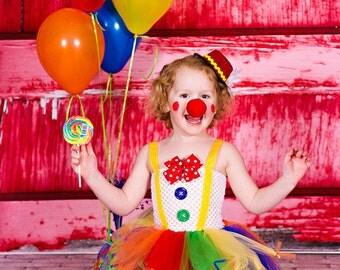 Clown tutu dress