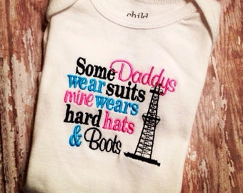 Some daddies wear suits mine wears hard hats and boots bodysuit