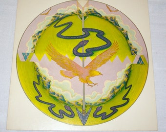 Native American Motif Print 1973