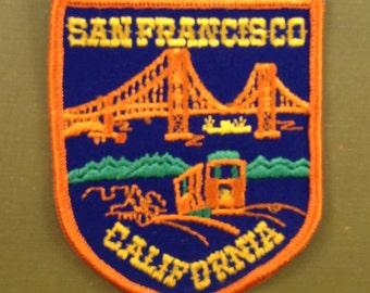 San Francisco California Vintage Souvenir Travel Patch
