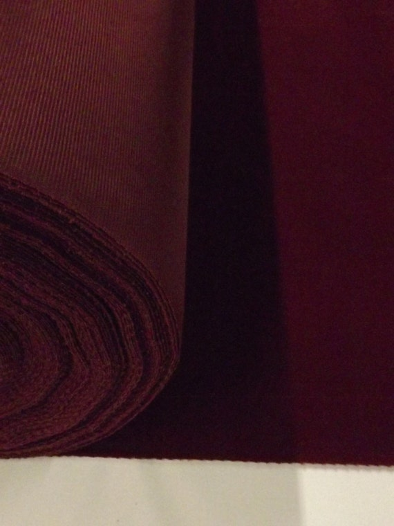 solid burgundy wine color flocked flocking velvet fabric for upholstery craft curtain drapery. Black Bedroom Furniture Sets. Home Design Ideas
